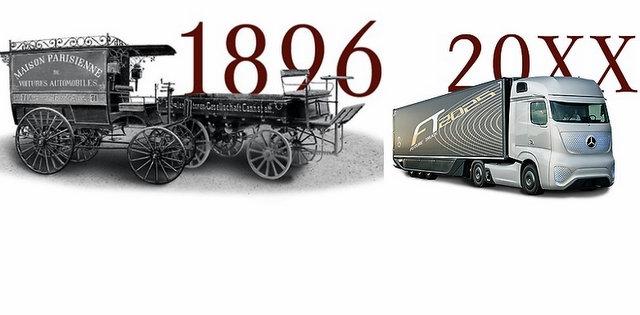 İşte Mercedes-Benz'in 120 yıllık tarihindeki 19 kamyonun fotoğrafları