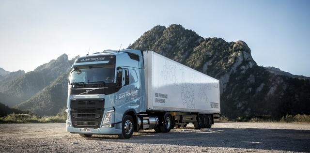 Volvo Trucks'ın Doğalgazlı Kamyonları Yola Çıkıyor… ( 8 FOTOĞRAF)