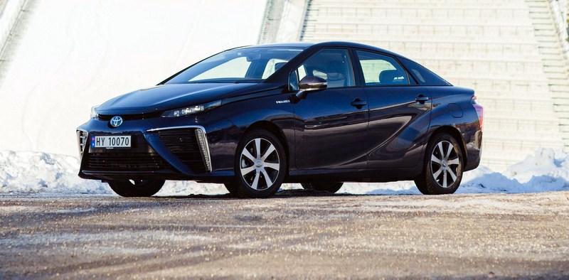 0 Emisyonlu Toyota Mirai Avrupa'da Yaygınlaşıyor