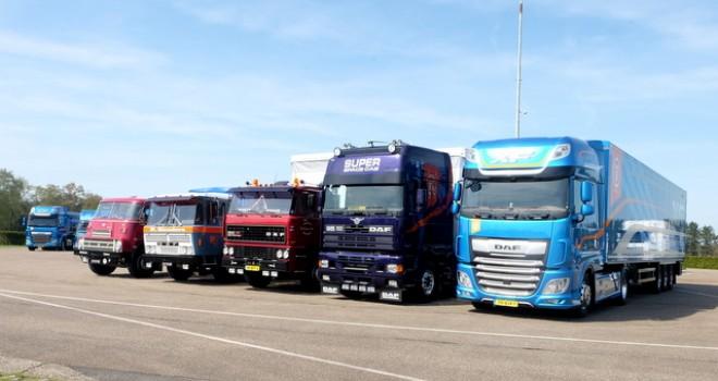 90 yıldır başarı hikayesi yazan dev kamyon markası: DAF
