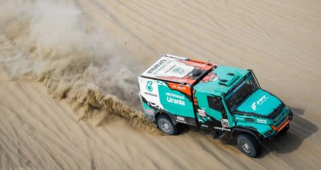 IVECO Takımı Dakar Rallisi'ne hızlı başladı