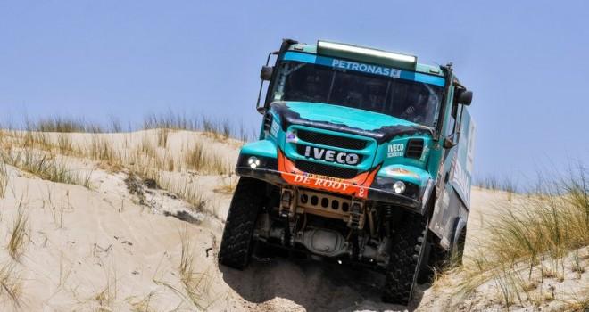 IVECO dünyanın en zorlu ralli yarışına hazır
