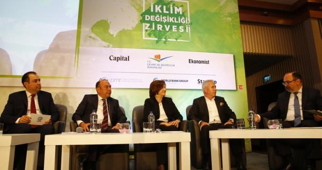 İş Dünyası İklim Değişikliği Risklerini ve Fırsatlarını Tartıştı