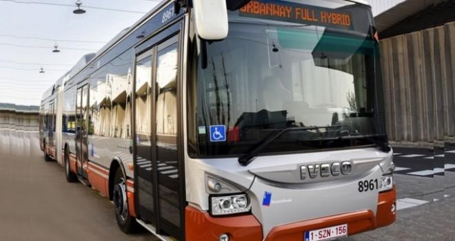 IVECO, Brüksel'e 141 hibrid elektrikli otobüs teslim edecek