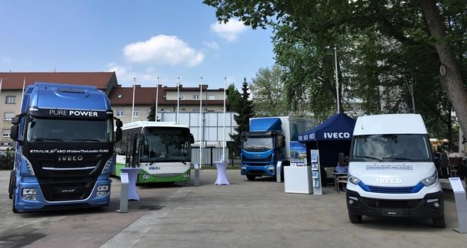 Iveco, doğalgazla çalışan araçlarını TEN-T Days 2018'de tanıttı