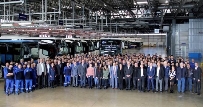 1968 yılından bu yana 85 bin adet otobüs üretti