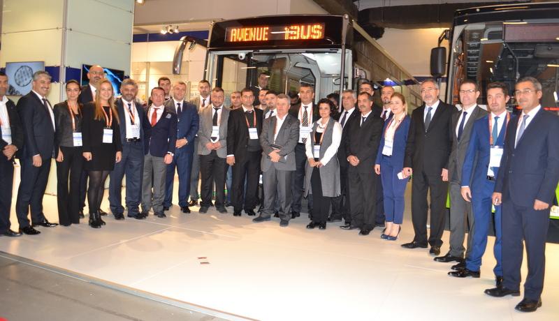 Temsa, akıllı otobüsü Avenue iBus'ı Transist Fuarı'nda tanıttı