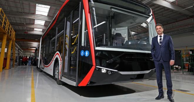 Yeni nesil SILEO elektrikli otobüs yollara çıkıyor