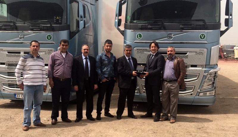 Filosundaki Volvo Trucks'ların sayısını 18'e yükseltti