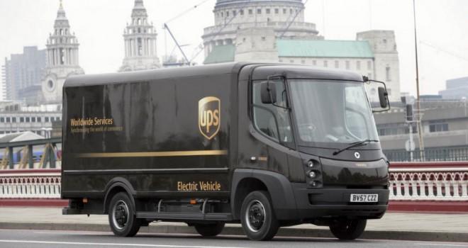 UPS'e, Londra'daki elektrikli kamyon sayısını 170 adede çıkartacak