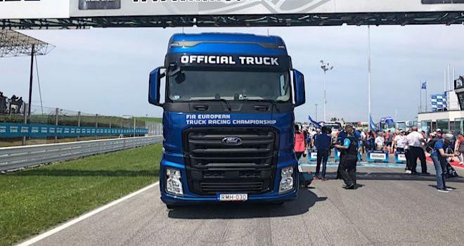F-MAX, Avrupa Kamyon Şampiyonası'nın resmi aracı oldu
