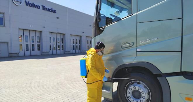Volvo Trucks kesintisiz hizmet vermeye devam ediyor