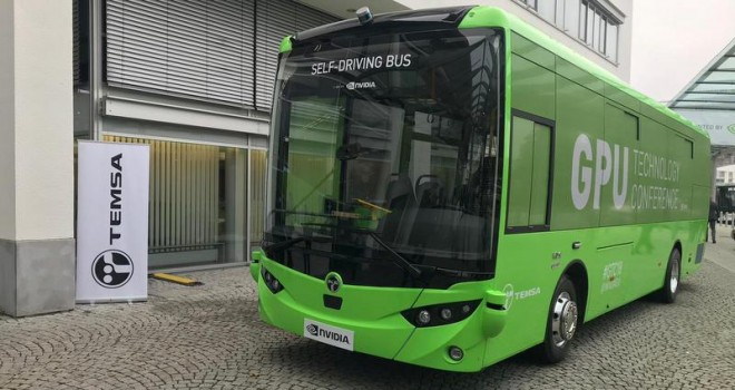 TEMSA, sürücüsüz otobüsünü tanıttı
