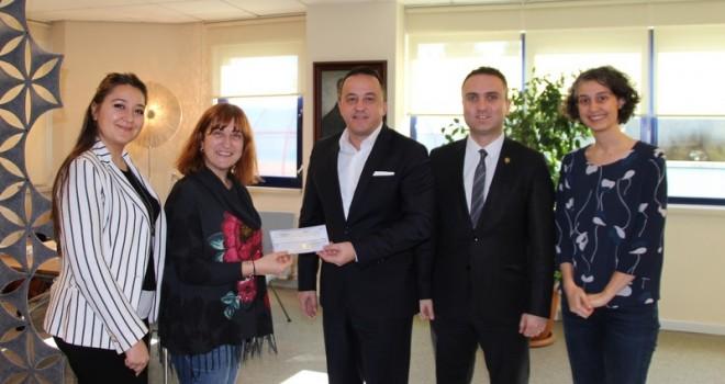 UPS Vakfı'ndan Türkiye Spastik Çocuklar Vakfı'na destek!
