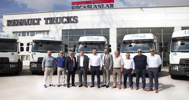 Alltrak Uluslararası Taşımacılık'a 15 adet Renault Trucks D Wide 430 çekici