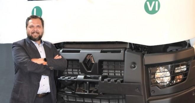 Renault Trucks Türkiye İnşaat ve Üstyapı Satış Müdürü Arda Girgin oldu
