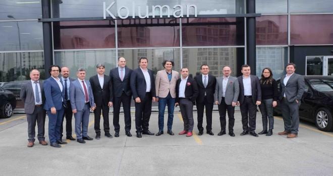 """Koluman İstanbul'a """"Otobüs ve Kamyon Üretici Standardında Hasar Onarım Merkezi"""" sertifikası"""