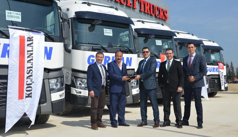 Filosunu 5 adet Renault Trucks ile güçlendirdi