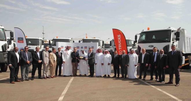 Suudi Arabistan'a 100 Adet Ford Trucks teslimatı