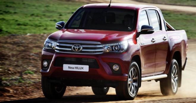 Toyota Hilux 2017'de 4 bin 550 adet sattı