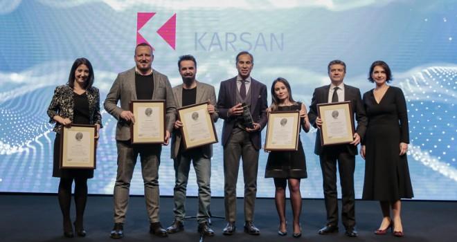 """Karsan'a """"Yılın İtibarlı TicariAraç Markası"""" Ödülü"""