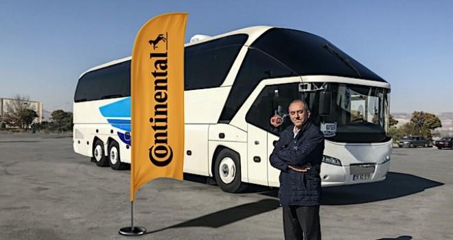 Kayserili yolcu taşıma şirketi Süha & RH Turizm, Continental'i tercih etti