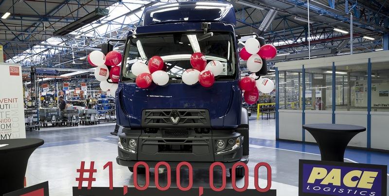 1 milyonuncu Renault Trucks'ın sahibi oldu