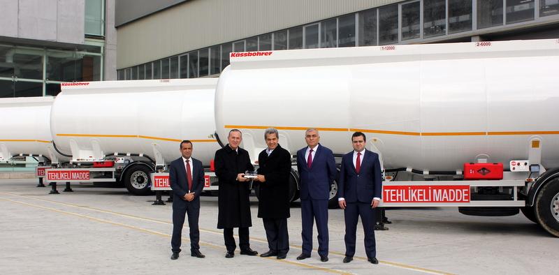 10 adet ADR'li yakıt tankeri aldı, filosundaki araç sayısını 50'ye çıkarttı