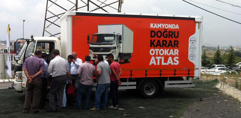 10 bin kamyoncuya ulaştı, Türkiye'yi dolaşmaya devam ediyor