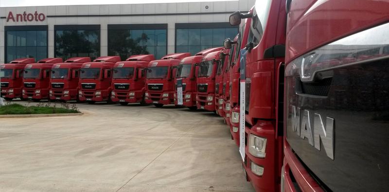100 adet MAN kamyon ve çekici aldı