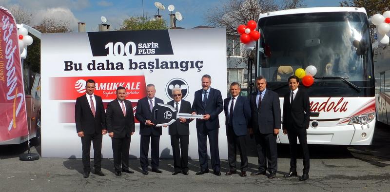 100 adet Safir Plus 2+1 otobüsün 50'sini filosuna kattı