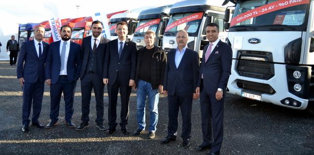 1100 adet ikinci el kamyon satışı hedefleyen TruckMarket Sancaktepe merkez tesisini açtı