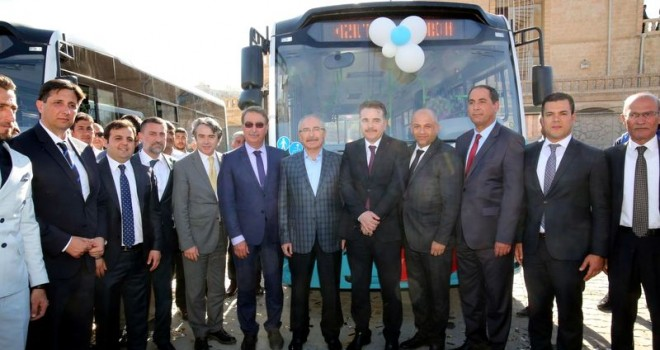 Mardin Kızıltepe'ye 48 adet Otokar Sultan LF otobüs
