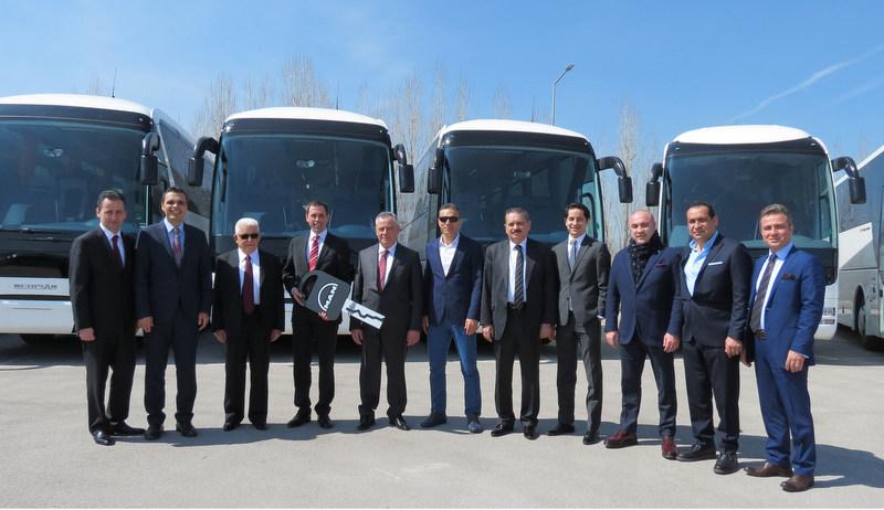 Pamukkale'den 20 milyon euroluk otobüs yatırımı