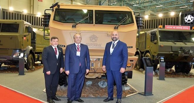 Anadolu Savunma, IDEF Fuarı'nda Seyit aracını tanıttı