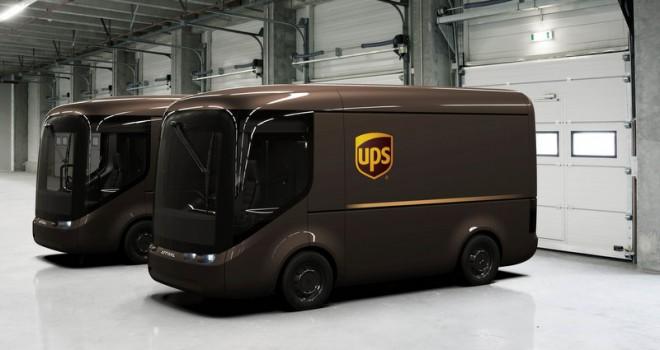 UPS, 35 Adet Elektrikli Dağıtım Aracını Londra ve Paris'te Kullanacak