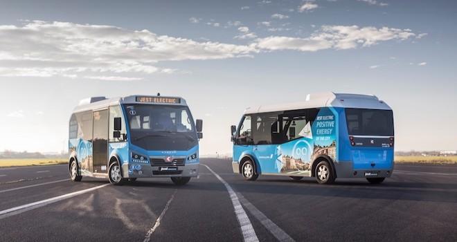 Karsan'ın elektrikli minibüsü Jest Electric Avrupa yollarında