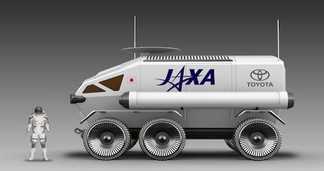 Toyota'nın Uzay Aracı 2029'da Ay'a Gidecek