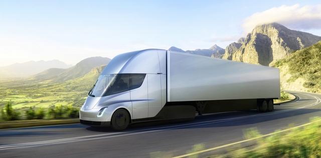 125 adet elektrikli Tesla TIR siparişi verdi