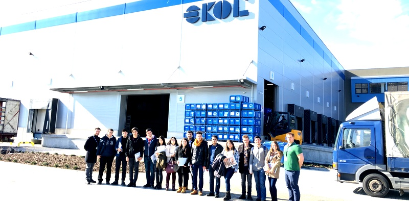 14 lojitisyen Ekol'ün Macaristan tesislerini gezdi