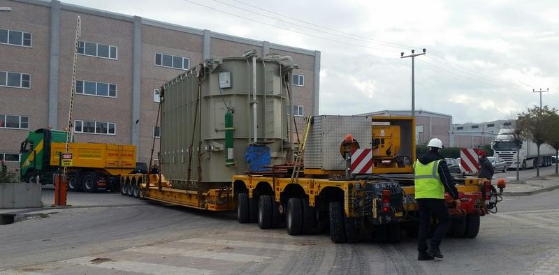 143 tonluk trafoyu Erbil'den İskenderun'a taşıdı