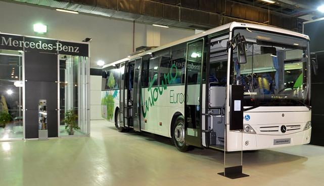 Mercedes-Benz Türk, Transist Fuarı'na Tourismo ve Intouro otobüsleri ile katıldı
