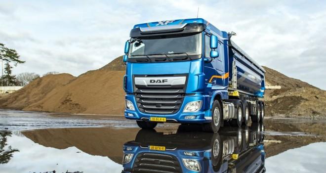 Avrupa'nın çekici lideri DAF, inşaat segmentine odaklandı