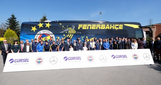 Fenerbahçe'nin otobüsü Yeni Tourismo 15 RHD oldu
