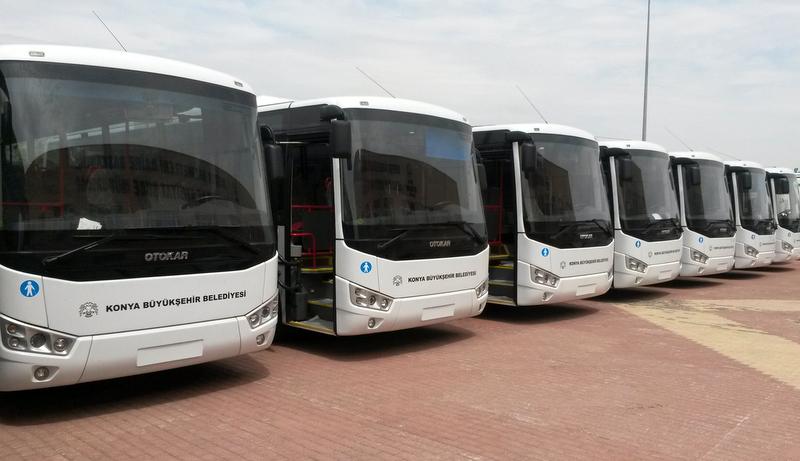 3 şehre 41 adet Otokar Doruk teslim edildi, 12 adet Kent ise yolda...