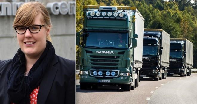 Scania'nın sürücüsüz kamyonlarını geliştiriyor