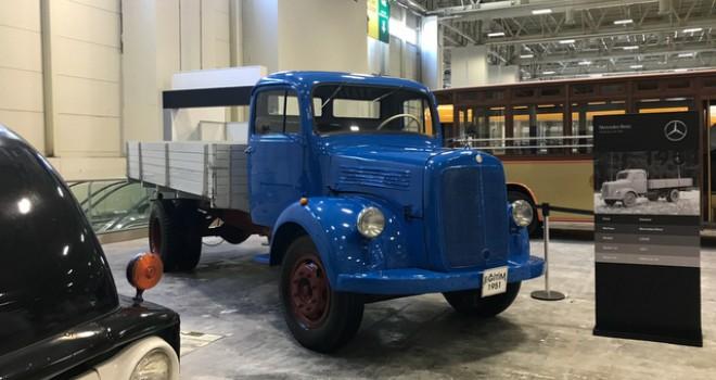 1951 model L3250 kamyonu Klasik Otomobil Festivali'ne ile katıldı