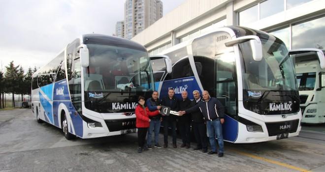 MAN'dan 6 firmaya 9 adet otobüs teslimatı