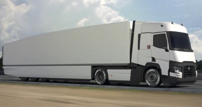 Renault Trucks, çekici-treyler kombinasyonu yakıt tüketimini yüzde 13 azaltmayı hedefliyor