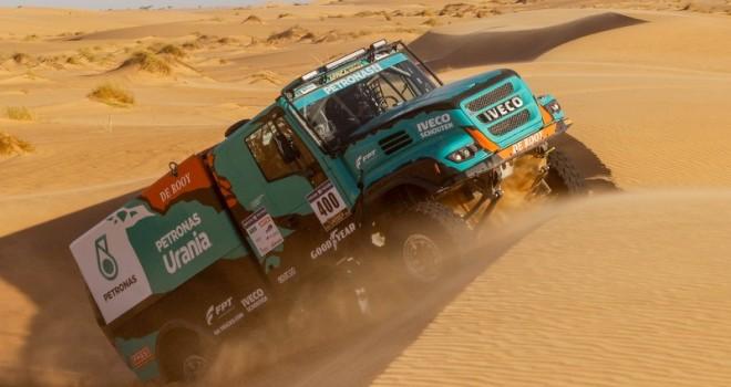 Dakar 2019'da Goodyear Kamyon Lastikleriyle Yarışacak